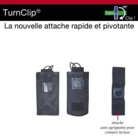 Etui porte radio pivotant TURNCLIP®