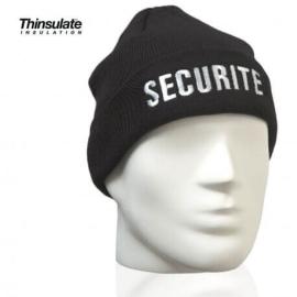 Bonnet noir sécurité