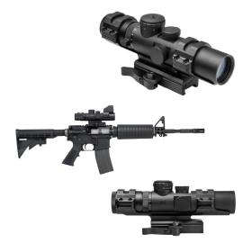 Lunette tactique 2-7x32 pour fusil