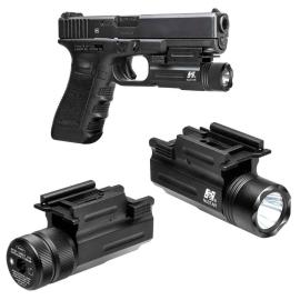 Lampe torche interchangeable laser pour pistolet
