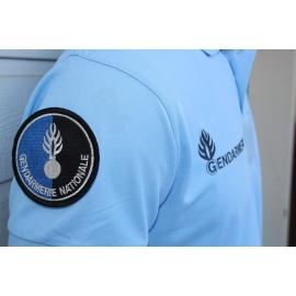 Polo Gendarmerie Cooldry Bleu