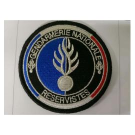 ecusson gendarmerie reserve
