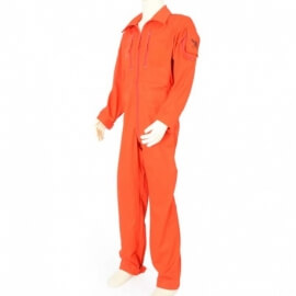 combinaison enfant orange dimatex