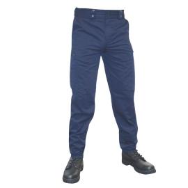 pantalon intervention platinium mat bleu