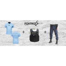 Pack tenue Polo+Pantalon+Housse GPB