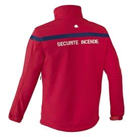 Vest softshell sécurité incendie