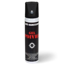 aérosol lacrymogène gel poivre 75 ML