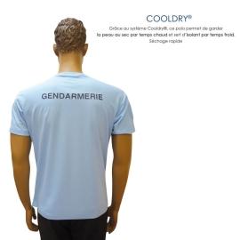 TEE SHIRT GENDARMERIE COOLDRY