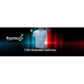 lot de 2 tee-shirts gendarmerie cooldry