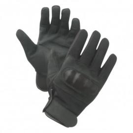 gants coques noirs