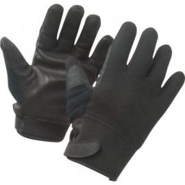 gants anti coupures noirs