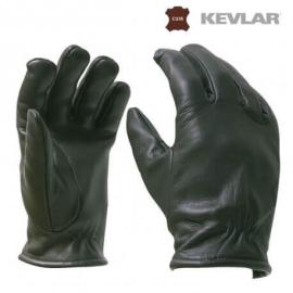 gants kevlar anti coupures noirs