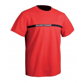 tee shirt sécurité incendie