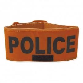 Brassard Police fluo orange