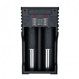 chargeur klarus 2 batteries