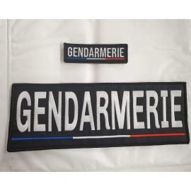 jeu de bandeaux gendarmerie france