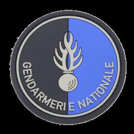 ecusson gendarmerie gomme