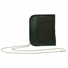 porte carte avec chaine