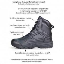 chaussures mi-hautes waterproof