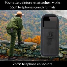 Porte téléphone 2 en 1
