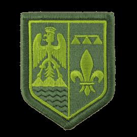 Ecusson région Gendarmerie vert