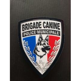ecusson pm brigade canine