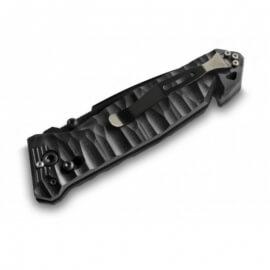 Couteau de poche Cac® S200 serration G10 noir