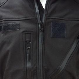 Blouson noir Softshell 3 couches Dintex +