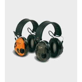 Casque 3M Peltor Sport Tac - Coquilles vertes/oranges