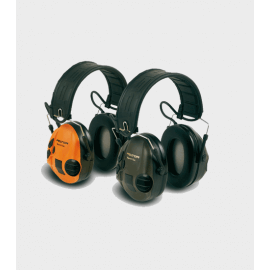 Casque Peltor Sport Tac - Coquilles vertes/oranges