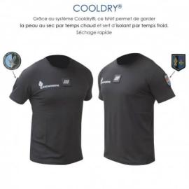 Tee shirt cooldry anti-humidité Gendarmerie
